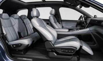 1st generation Nio ES8 electric SUV interior seating view