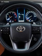 2nd generation facelifted toyota fortuner suv instrument cluster