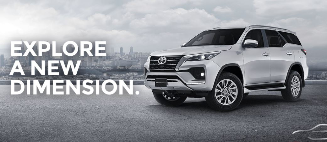 2nd generation facelifted toyota fortuner title image