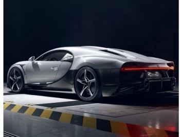 Bugatti unveiled Chiron SuperSport Limited Edition side rear view