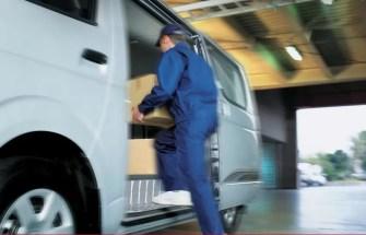 6th generation Toyota hiace van rear foot rest view
