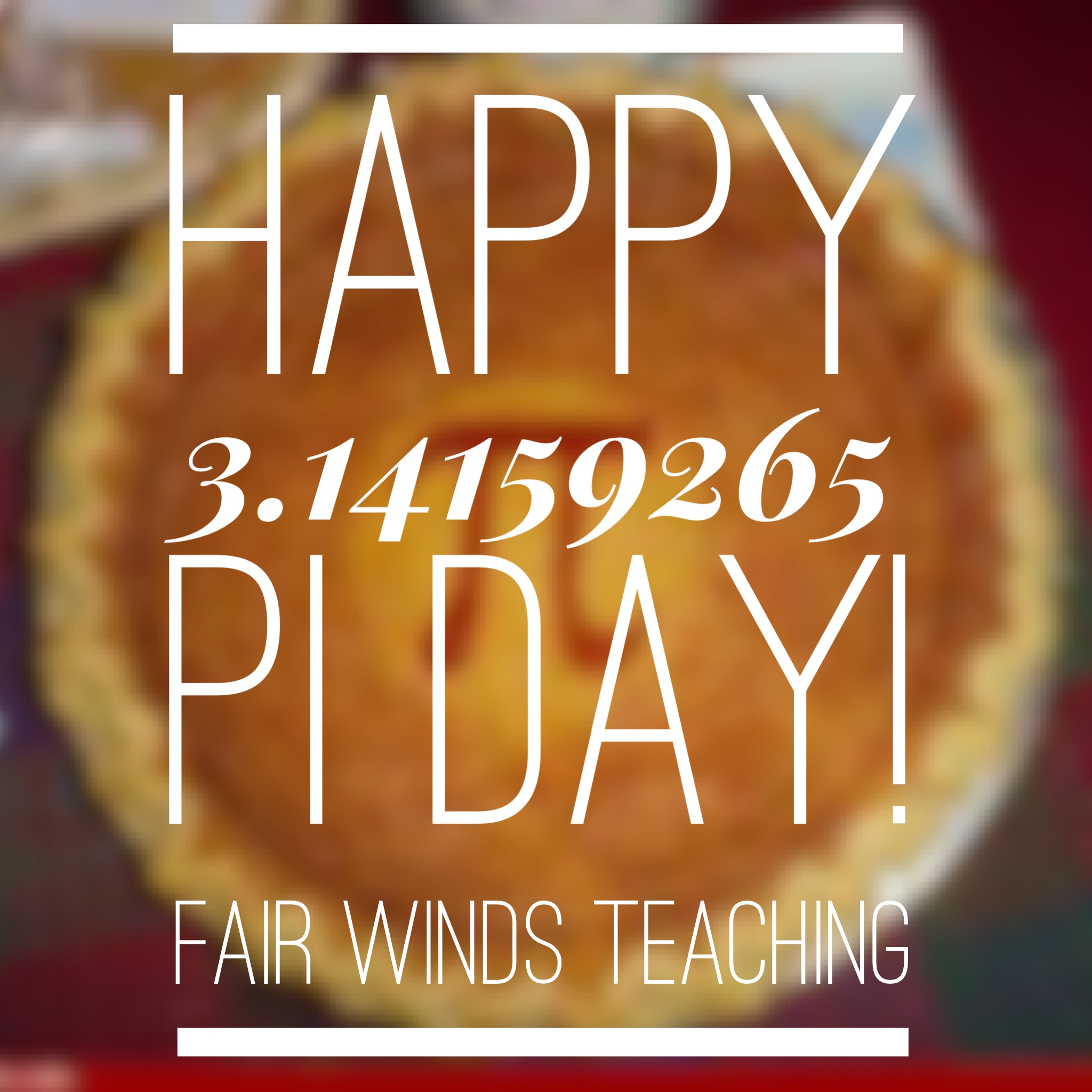 National Pi Day 3 14