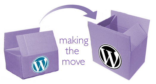 Moving from one WordPress to another