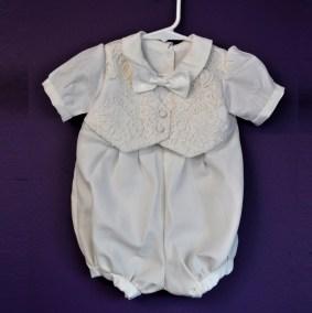 Romper faux vest short 01