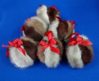 fur ball ornaments