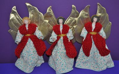 Fierce Angels From Knit and Apron