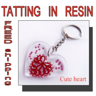 Keychain cute heart