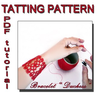 Bracelet Duchess tatting pattern