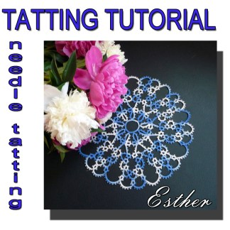 Doily Esther tatting pattern
