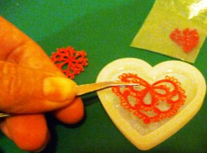 Tatting in resin part 4