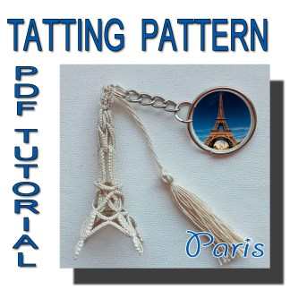 Paris tatting pattern