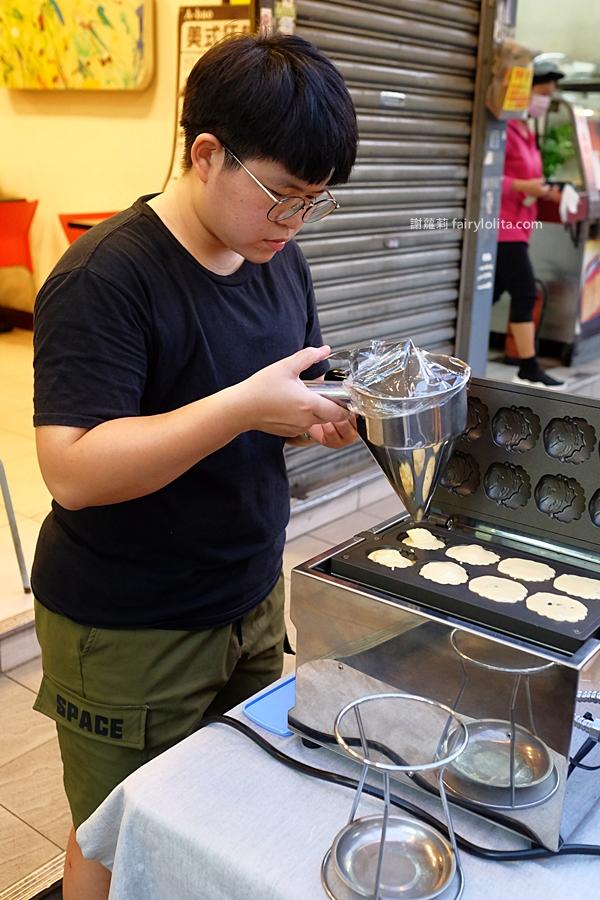DSCF3450 - 你來!阿嬤叫你來。一天只賣3.5小時,隱藏版「阿嬤古早味雞蛋糕」,想吃還得碰運氣!(暫停營業)