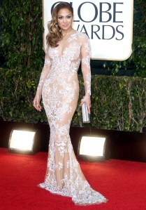Jennifer Lopez, no Golden Globe 2012.