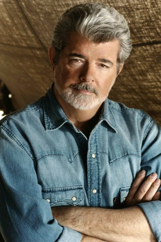 Star Wars creator George Lucas. (c) Lucasfilm Ltd. & TM. All rights reserved. PHOTOGRAPHS TO BE USED SOLELY FOR ADVERTISING, PROMOTION, PUBLICITY OR REVIEWS OF THIS SPECIFIC MOTION PICTURE AND TO REMAIN THE PROPERTY OF THE STUDIO. NOT FOR SALE OR REDISTRIBUTION.