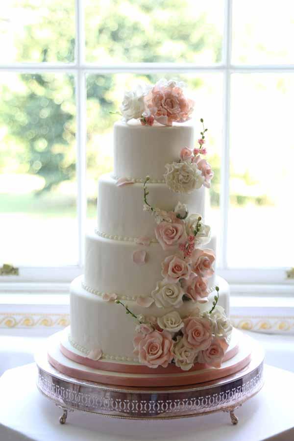 floral wedding cake decorations. Black Bedroom Furniture Sets. Home Design Ideas