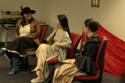 Panel - Belinda Calderone, Rebecca-Anne Do Rozario and Wiebke Eikholt