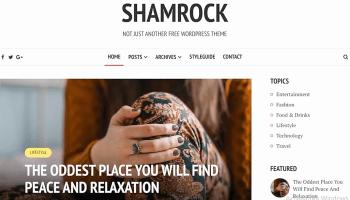 тема «shamrock»