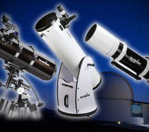 choisir télescope astrophotographie observation