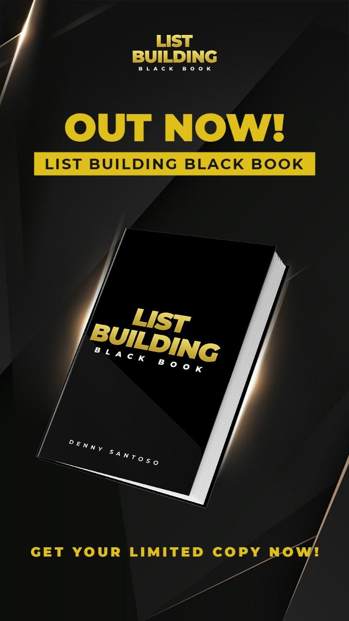 Poster List Building Black Book