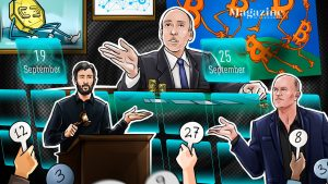 Read more about the article Crypto recovers on positive Fed and Evergrande news, then drops amid China FUD; Sorare and Dapper Labs raised a combined $930M: Hodler's Digest, Sept. 19-25