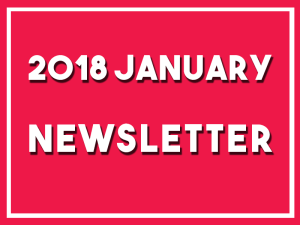 Click here to read my newsletter for January 2018