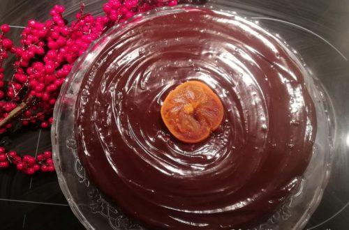 gâteau vrai chocolat noir
