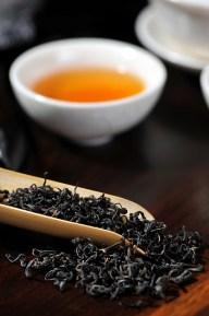 thé noir pour le thé glacé à l'aloe vera
