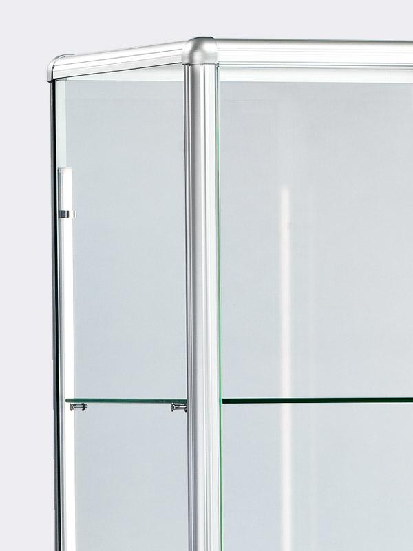 vitrine colonne avec embase faisst