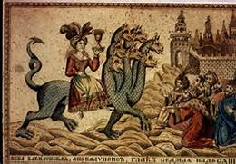 The Whore of Babylon - Russian Tapestry