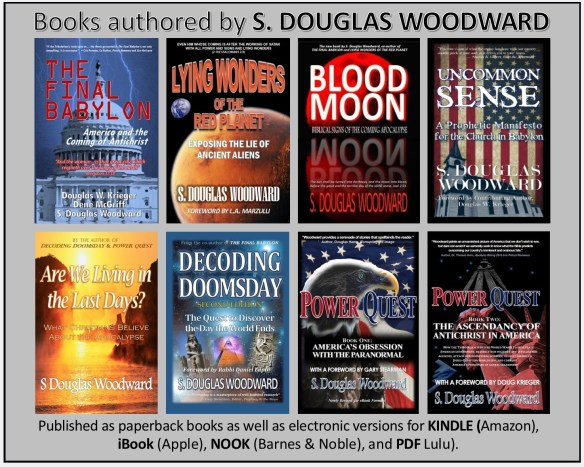 Books Authored by S Douglas Woodward 12 12 2014 copy