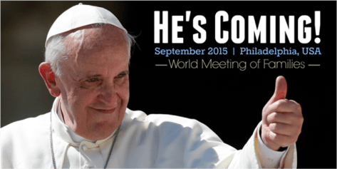 The Pope is Coming to America
