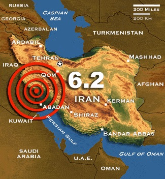 MAJOR EARTHQUAKES IN WESTERN IRAN ARE COMMON