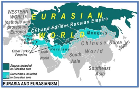 EURASIA -- The Lands of the Sons of Japheth