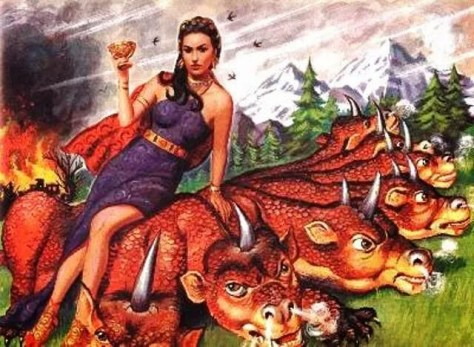 THE WOMAN IN PURPLE WHO RIDES THE BEAST