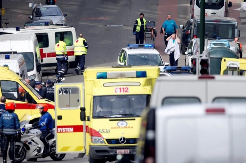 The Terror Attack in Brussels, March 22, 2016