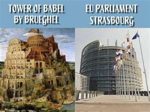 Babel and the E.U. Just a coincidence?