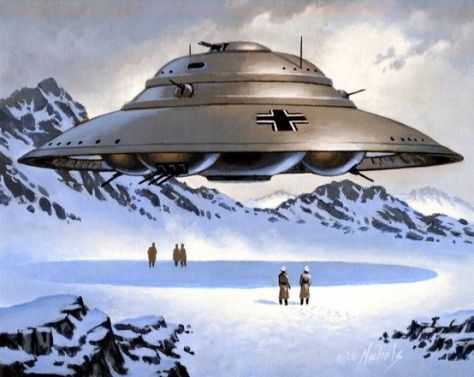 Nazi Flying Saucers in Antarctica?