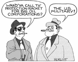 DOES THE WORLD PAY THE U.S. MILITARY INDUSTRIAL COMPLEX FOR PROTECTION?