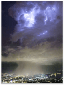 THE MAGNETIC STORM CLOUD THAT APPEARED ABOVE CERN NOT LONG AGO