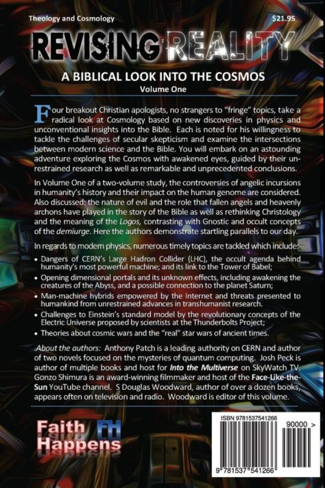 BACK COVER OF REVISING REALITY
