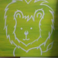 Nursery Art Lion