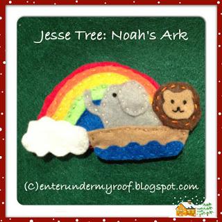 ACTIVITY: Jesse Tree: Noah's Ark & Rainbow Covenant