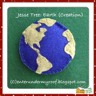 ACTIVITY: Jesse Tree: Earth (Creation)