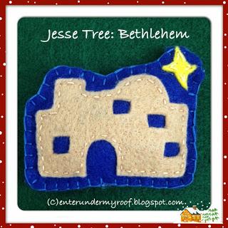 ACTIVITY: Jesse Tree: Bethlehem