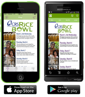 CRS Rice Bowl App Things to do for Lent Donate