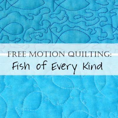 Pattern: Free Motion Quilting Fish