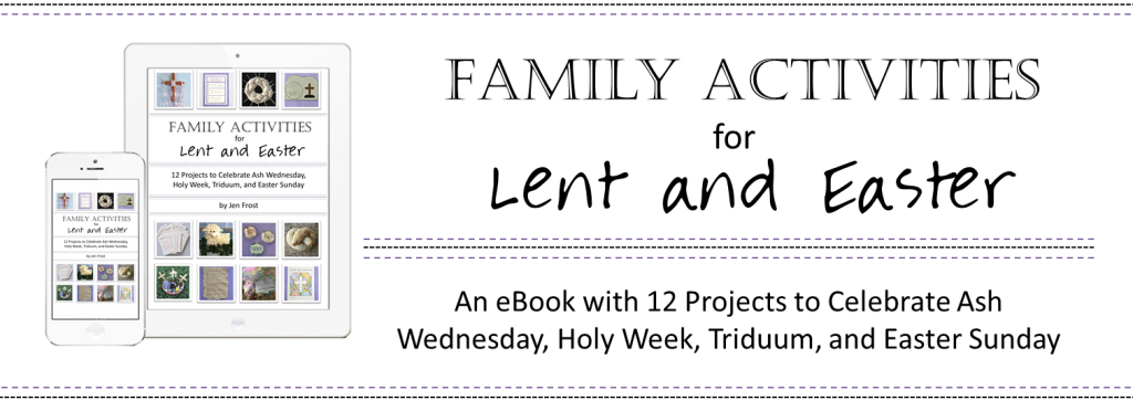 Faith and Fabric - Kids Activities for Lent Easter 3