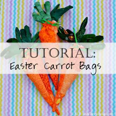 Tutorial: Easy Easter Sewing Projects – Carrot Bags