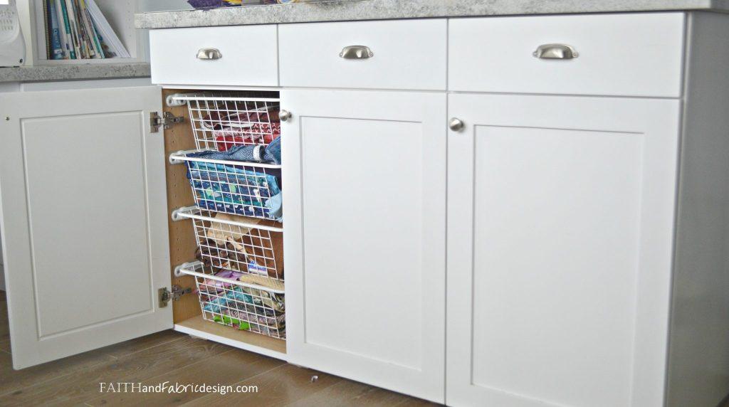 Fabric Scraps Storage & Scrappy Quilt Block 4