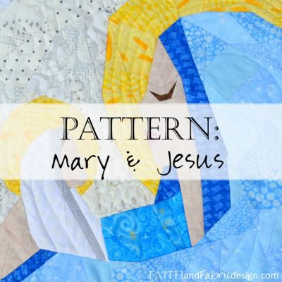 Pattern: Mary and Jesus Quilt (Nativity Christmas Morning)